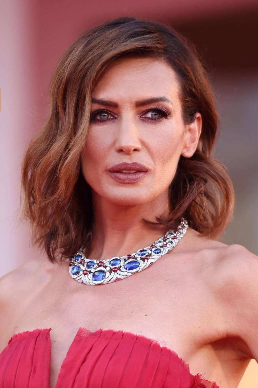 Nieves Alvarez: Hair by Massimo Serini Make Up By Stanislao Iafulli - Venice Film Festival 2020