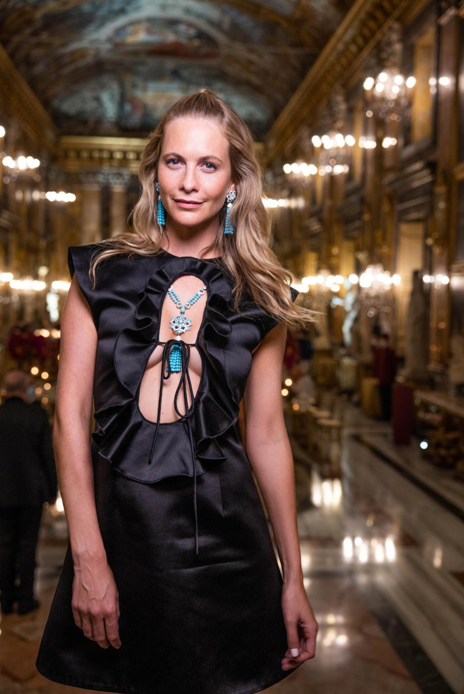 Poppy Delevingne - hair and makeup Massimo Serini - Bulgari Barocko 2020