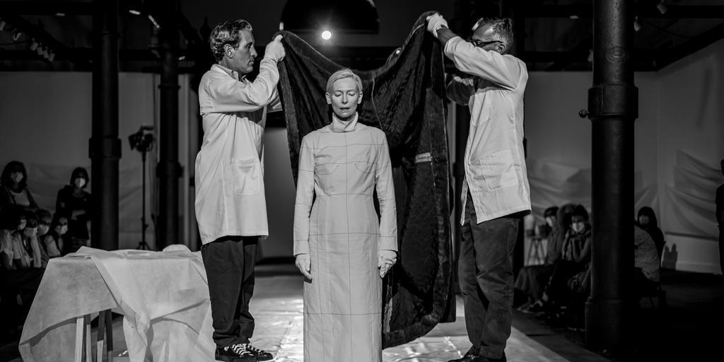 Embodying Pasolini: Hair and Make Up for Tilda Swinton by Massimo Serini